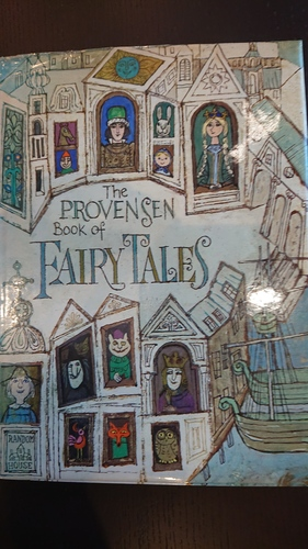 The PROVENSEN Book of FAIRY TAIES