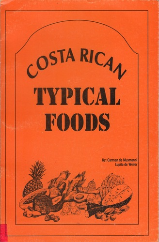 Costa Rican typical foods