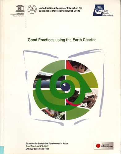 Good practices in education for sustainable development using the Earth Charter