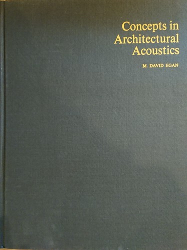 Concepts in Architectural Acoustics